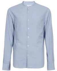 Officine Generale Gaspard Shirt - Blue
