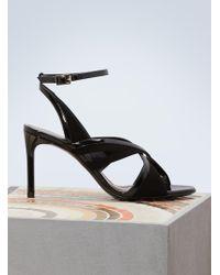 Lanvin - Patent Sandals - Lyst