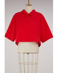 Thom Browne - Back Button Polo Blouse - Lyst