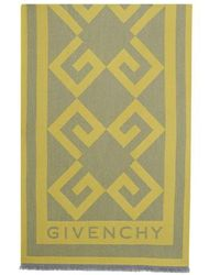 Givenchy Echarpe Monogram - Jaune