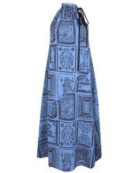 Acne Studios Midi Dress - Blue