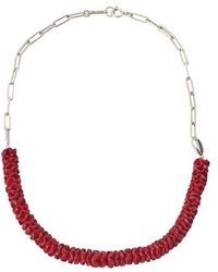 Isabel Marant Necklace - Red
