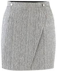 Roseanna Short Skirt - Grey