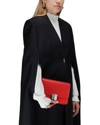 Givenchy Sac 4G Médium en Cuir Box - Rouge