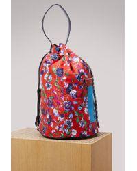 KENZO - Floral Animal Kingdom Drawstring Backpack - Lyst