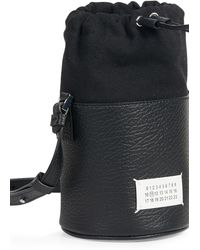 Maison Margiela Mini 5ac Bucket Bag - Black