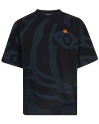 KENZO T-Shirt K-Tiger - Schwarz