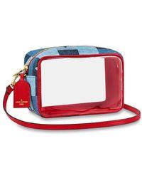 Louis Vuitton Beach Pouch - Red