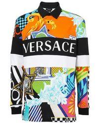 Versace Polo Shirt - Multicolour