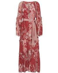 Chufy Robe Paracas - Rouge