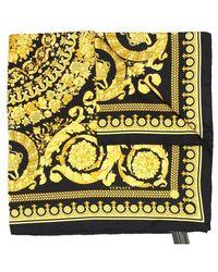Versace Foulard carré - Jaune