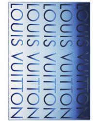 Louis Vuitton Lv Neon Stole - Blue