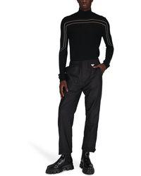 Rick Owens Pull col roulé - Noir