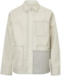 OAMC Control Jacket In Cotton - Grey