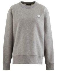 Acne Studios Fairview Sweatshirt - Gray