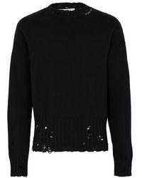 Marni Cotton Sweater - Black