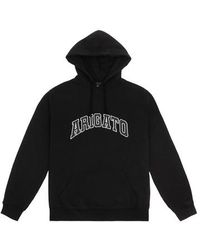 Axel Arigato Sweat à capuche avec logo universitaire - Blanc