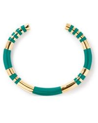 Aurelie Bidermann Positano Emerald Bracelet - Multicolour