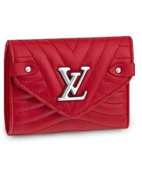Louis Vuitton Portefeuille compact New Wave - Rouge