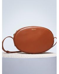 Repetto - Oval Leather Shoulder Bag - Lyst