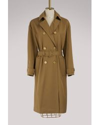 Vanessa Bruno - Isabella Cotton Trench Coat - Lyst