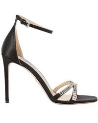 Prada High-heeled sandals - Schwarz