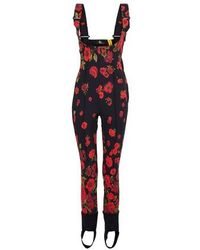 Moncler Genius 6 Moncler Grenoble - Overalls - Red
