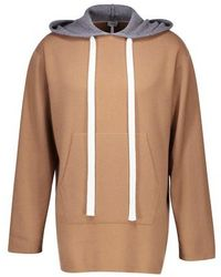 Loewe Cashmere Knit Hoodie - Multicolour