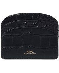 A.P.C. Card Holder - Multicolour