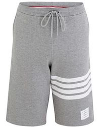 Thom Browne 4-bar Shorts - Grey