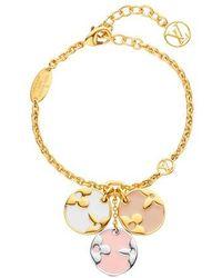 Louis Vuitton Bracelet Miss LV - Métallisé
