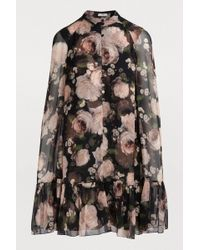 Erdem - Constantine Floral-print Silk Dress - Lyst