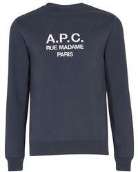 A.P.C. Rufus Sweatshirt - Blue