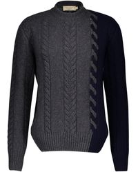 Maison Kitsuné Wool Sweater - Blue