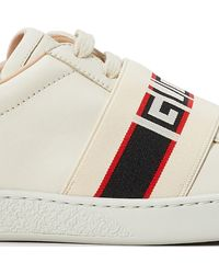 Gucci Baskets New Ace - Blanc