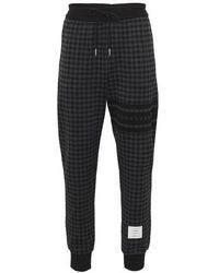 Thom Browne Pantalon de survêtement - Noir