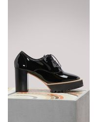 Repetto - Ivan Brogues With Heels - Lyst