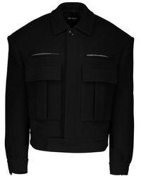 Raf Simons Oversized Jacket - Black