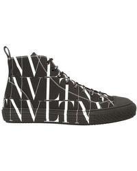 Valentino Valentino garavani sneakers bounce vltn aus kalbsleder - Weiß