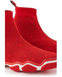 RED Valentino Valentino Garavani Stretch Knit Trainers - Red