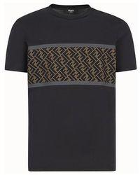 Fendi Cotton T-shirt - Black