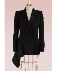 Alexander McQueen - Double-breasted Wool Jacket - Lyst