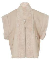 IRO Iyo Sleeveless Coat - Natural