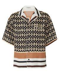 Valentino Chemise en soie - Noir