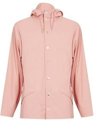 Rains Jacket - Pink