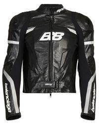 Balenciaga Veste Biker - Noir