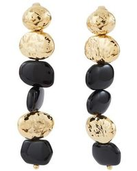 Aurelie Bidermann Honey Clip-on Earrings - Metallic