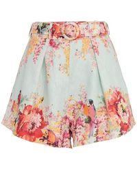 Zimmermann Mae Shorts - Multicolour