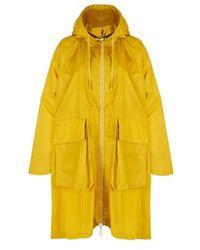 Moncler Printseps Parka - Yellow