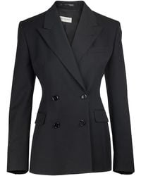 Dries Van Noten Wool-blend Blazer - Black